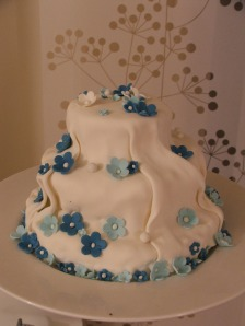Silk and Flowers Cake 2